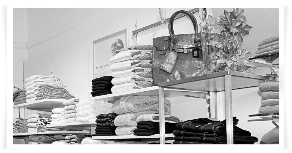 Boutique Modeclub: Kleider, Mäntel, Handtaschen